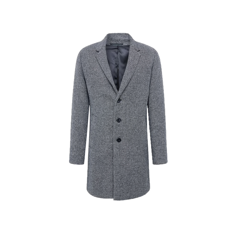 jack & jones dark grey coat